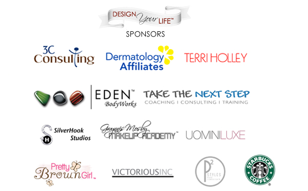 Design Your Life Event Sponsors